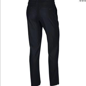 NWOT NIKE Drifit Golf Black Woven Pants Size 4